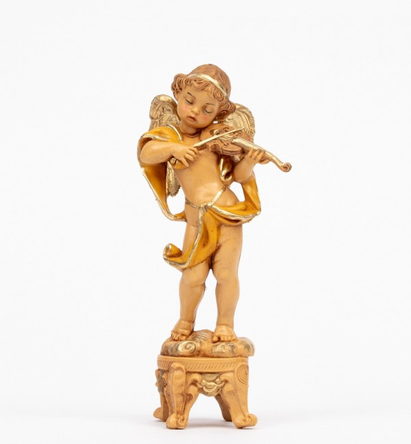Angel with violin (63) 16 cm.