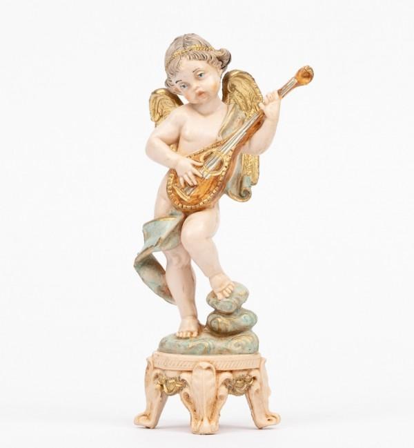 Angel with mandolin (64) porcelain type 16 cm.