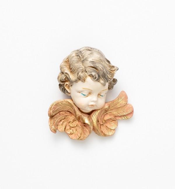 Angel head (67) porcelain type 11 cm.
