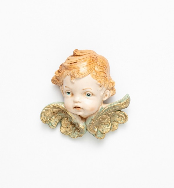 Angel head (68) porcelain type 11 cm.