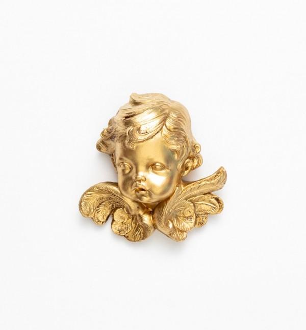 Angel head (68) golden type 11 cm.