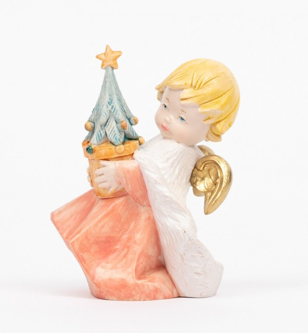 Angel with Christmas tree (142) porcelain type 10,5 cm.