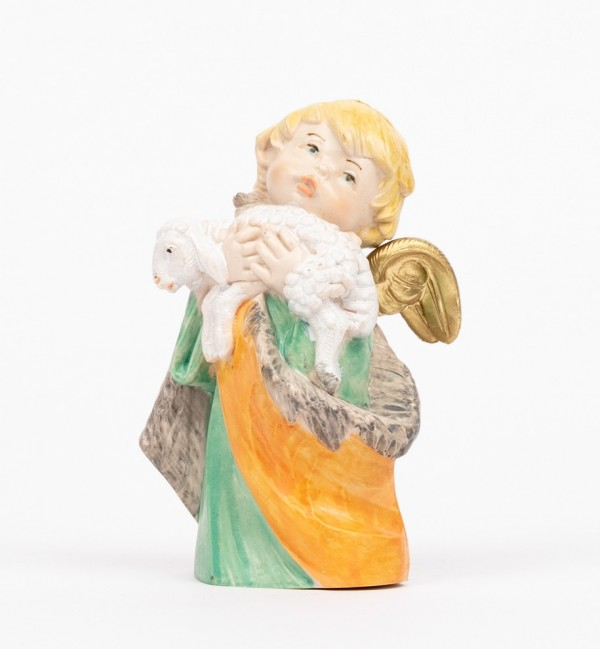 Angel with lamb (143) porcelain type 10,5 cm.