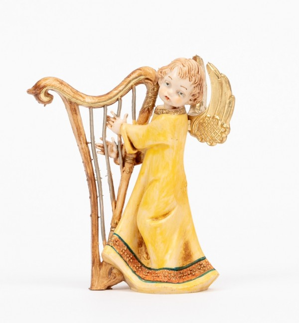 Angel with harp (161) porcelain type 12 cm.