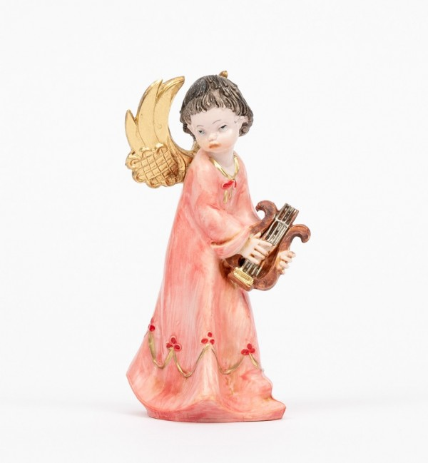 Angel with lyre (162) porcelain type 12 cm.