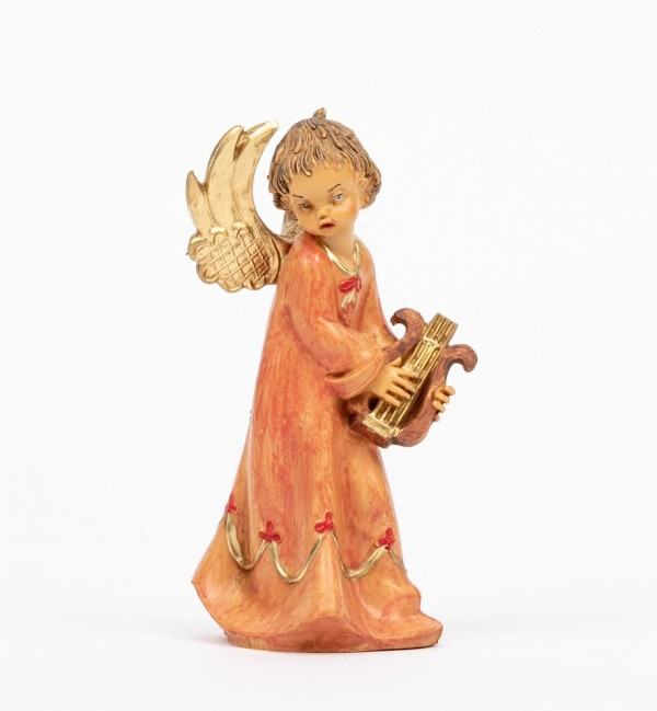 Angel with lyre (162) 12 cm.