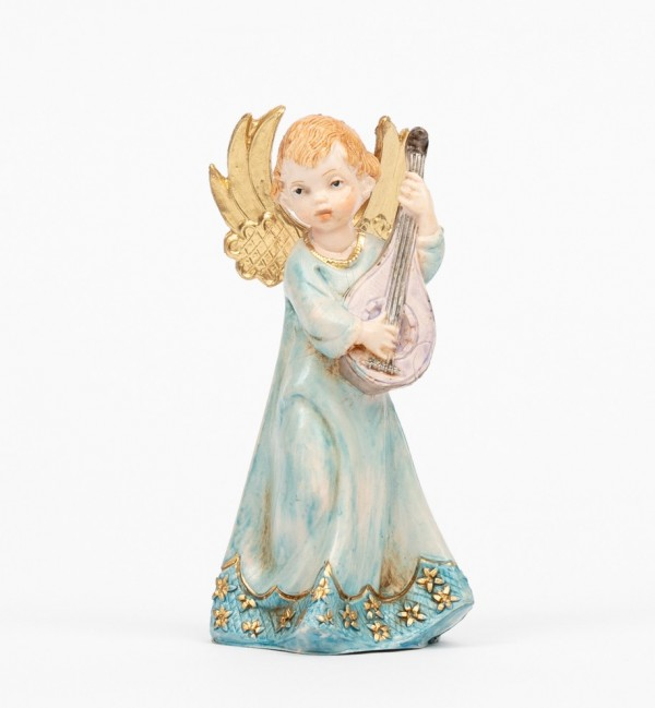 Angel with mandolin (164) porcelain type 12 cm.