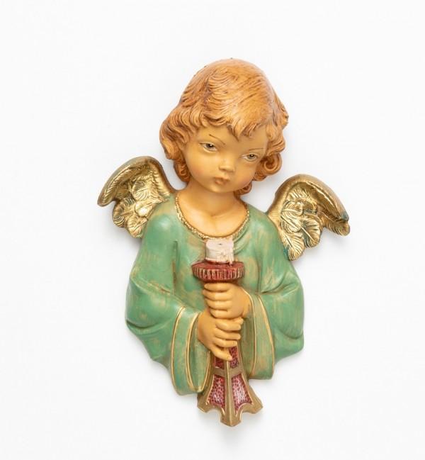 Angel with candelholder (165) 20 cm.