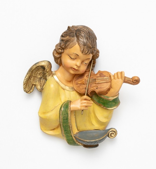 Angel with violin (167) 20 cm.