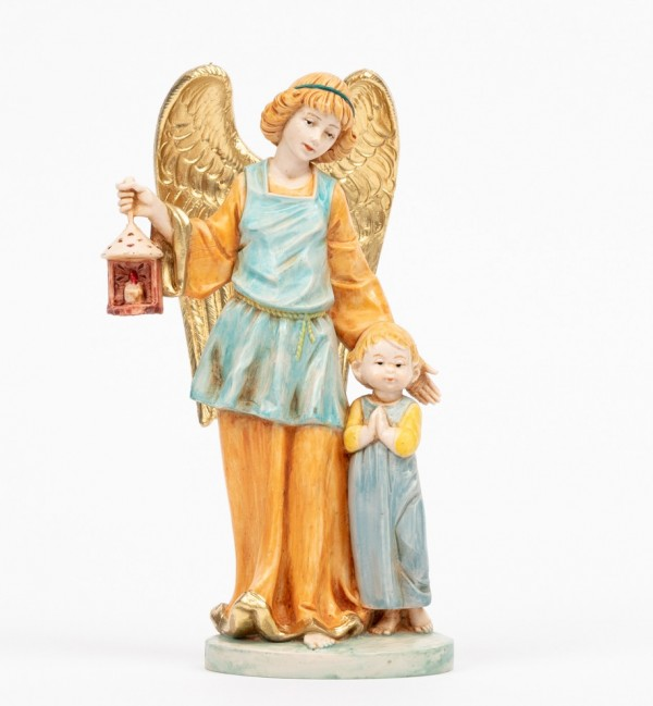 Guardian Angel with boy (174C) porcelain type 17 cm.