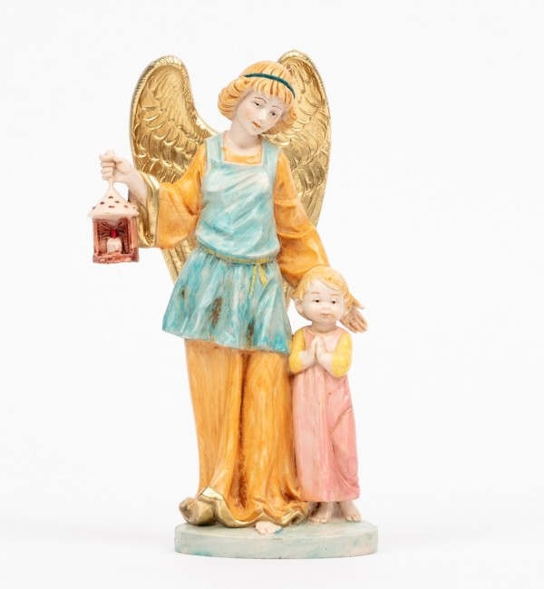 Guardian angel with girl (174R) porcelain type 17 cm.