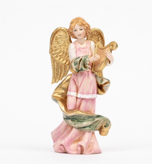 Angel with lyre (251) porcelain type 16,5 cm.