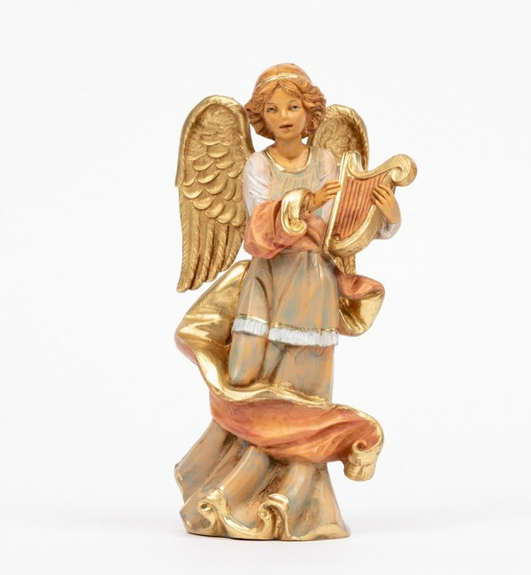 Angel with lyre (251) 16,5 cm.
