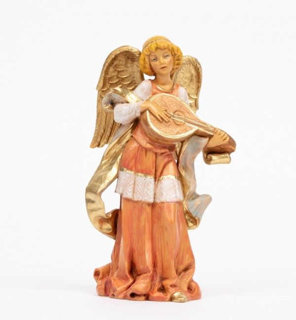 Angel with mandolin (252) 16,5 cm.