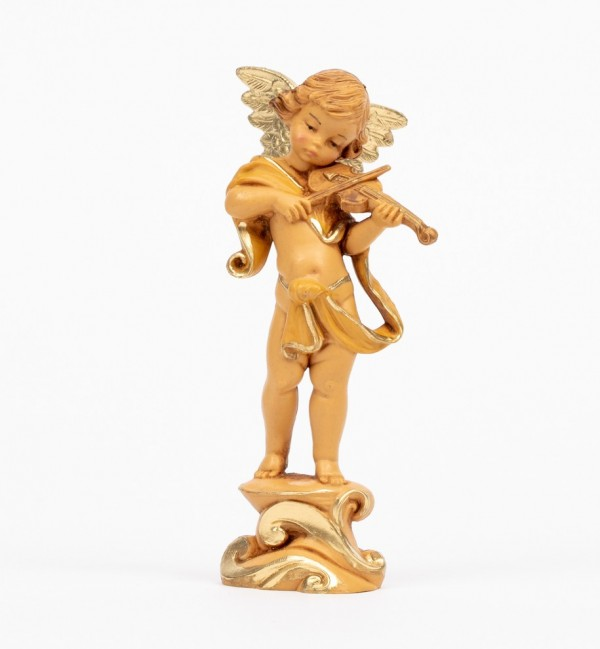 Angel with violin (263) 12 cm.