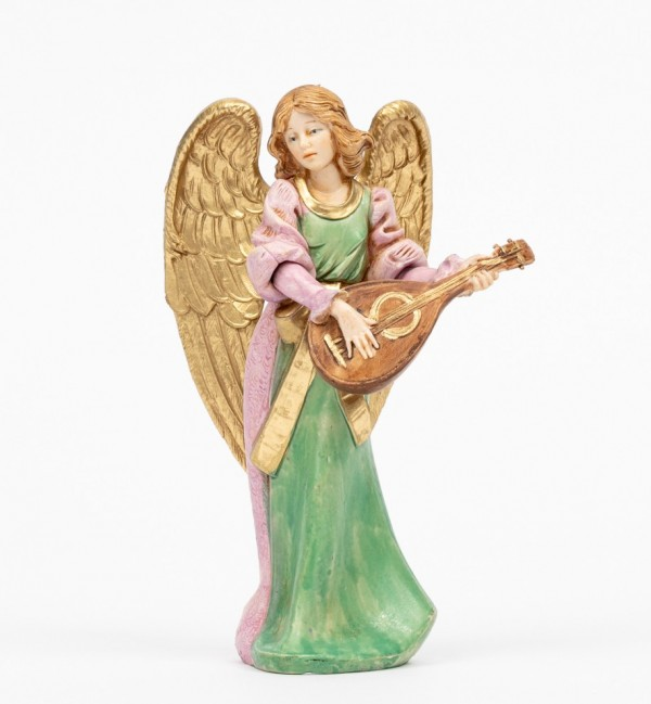 Angel with mandolin (267) porcelain type 15 cm.