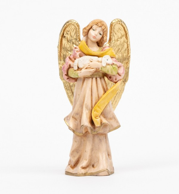 Angel with lamb (312) porcelain type 14 cm.