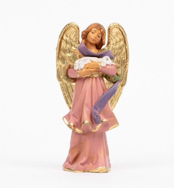 Angel with lamb (312) 14 cm.