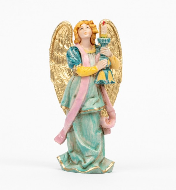 Angel with candel (313) porcelain type 14 cm.