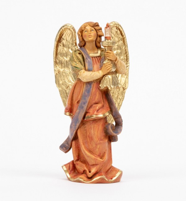 Angel with candel (313) 14 cm.