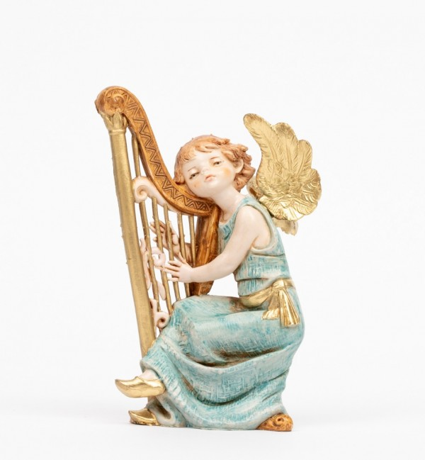Angel with harp (361) porcelain type 15 cm.