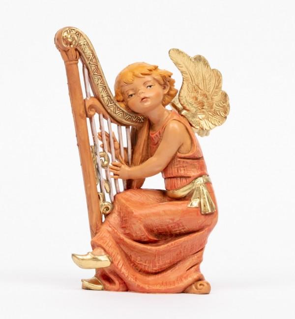 Angel with harp (361) 15 cm.