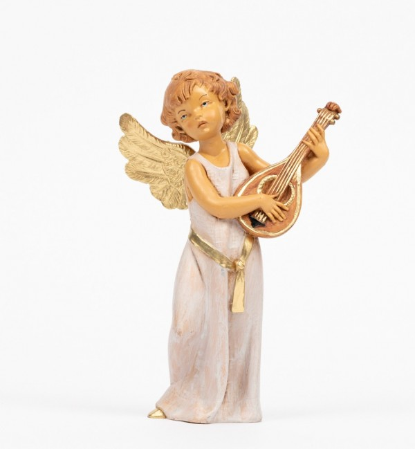 Angel with mandolin (362) 15 cm.