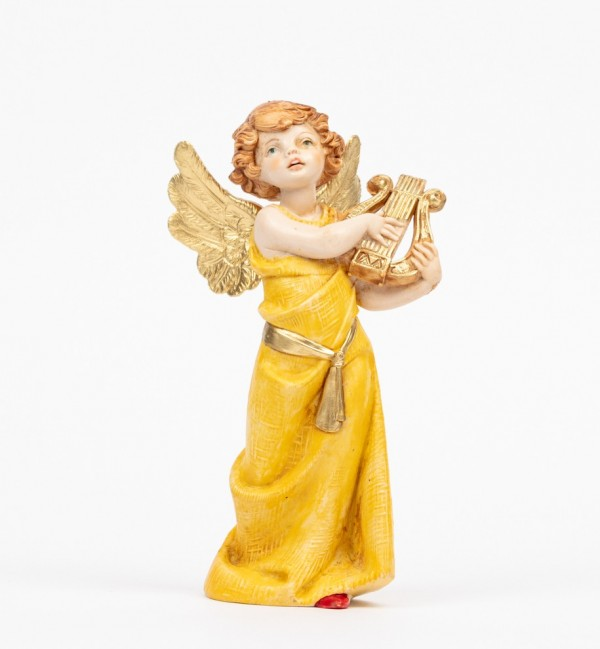 Angel with lyre (364) porcelain type 15 cm.