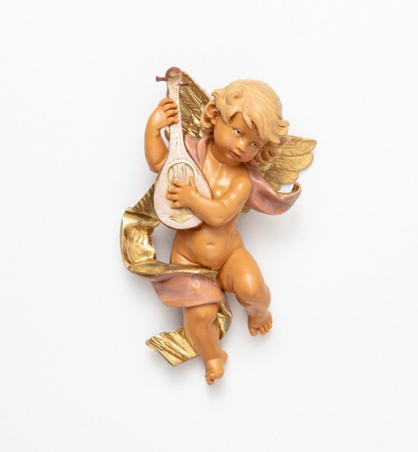 Angel with mandolin (365) 22 cm.