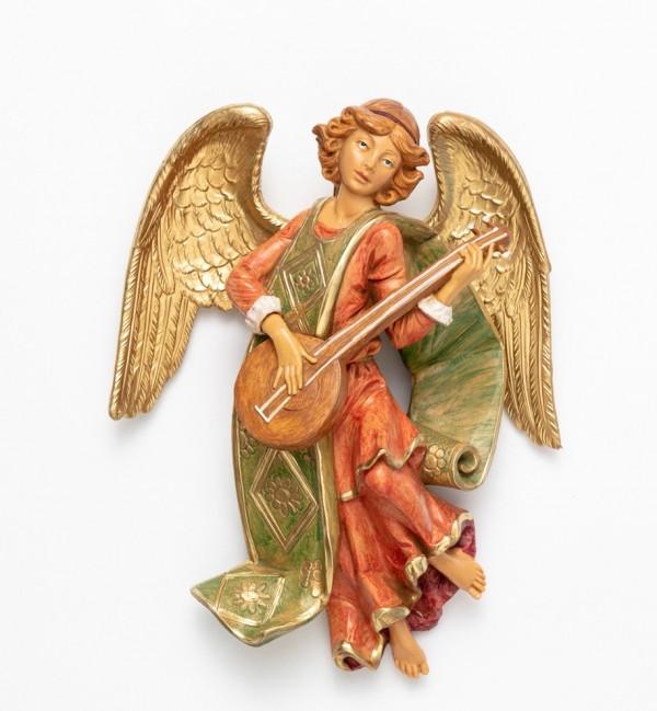 Angel with mandolin (367) 21 cm.