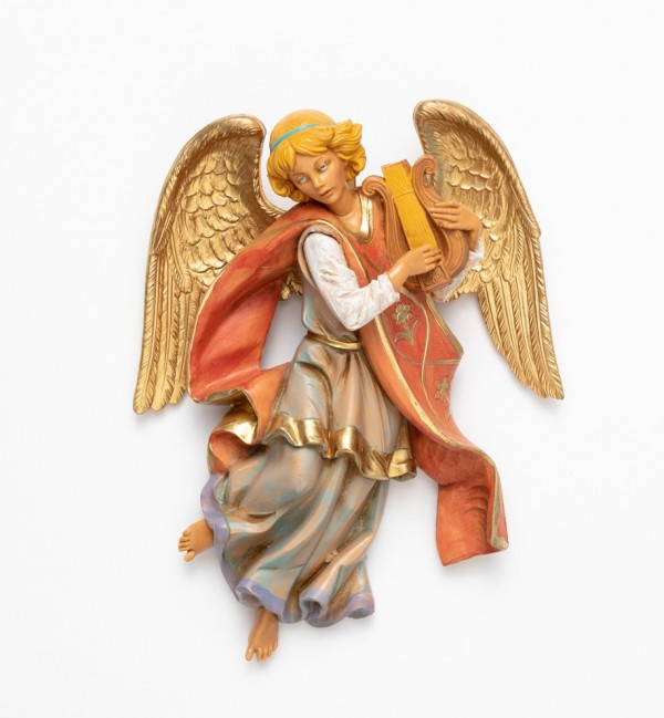 Angel with lyre (368) 21 cm.