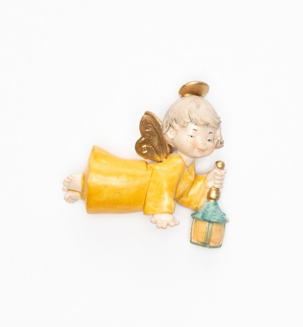 Angel with lamp (386) porcelain type 9 cm.