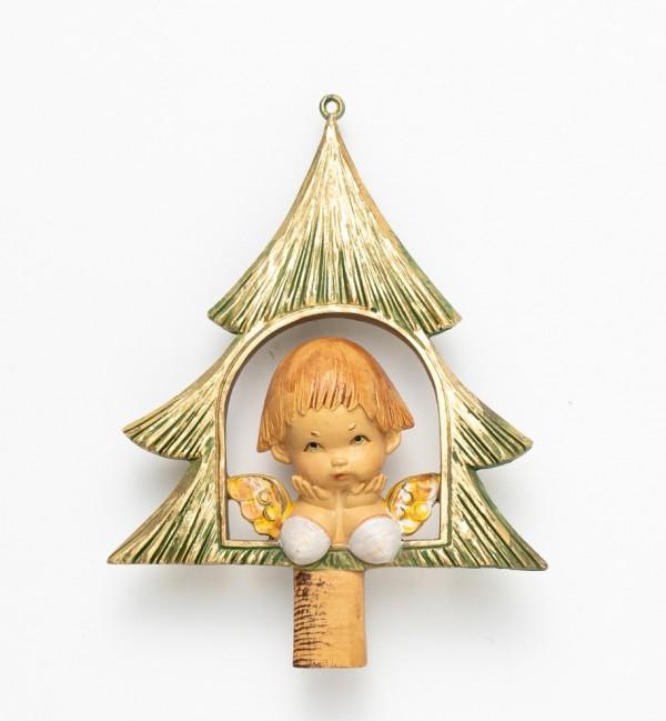 Angel on tree (390) 12 cm.