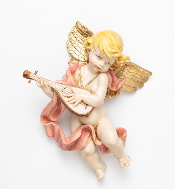 Angel with mandolin (465) porcelain type 27 cm.