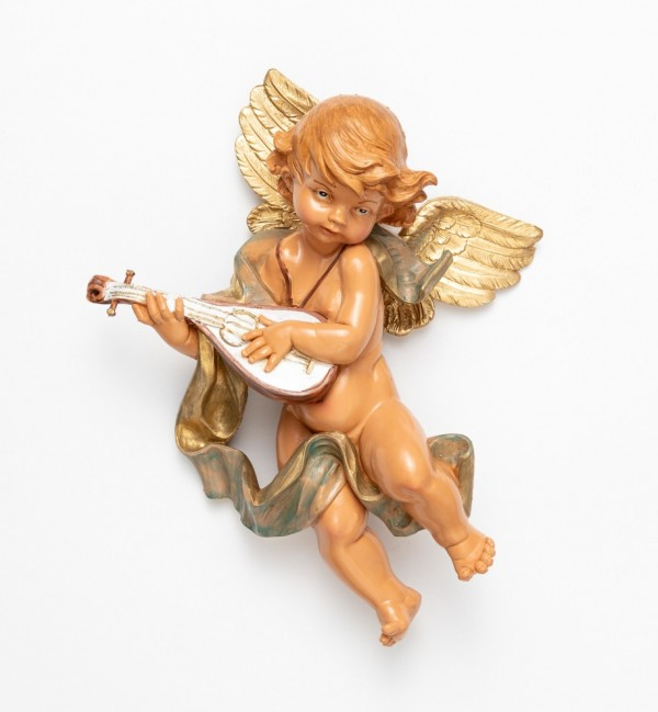 Angel with mandolin (465) 27 cm.