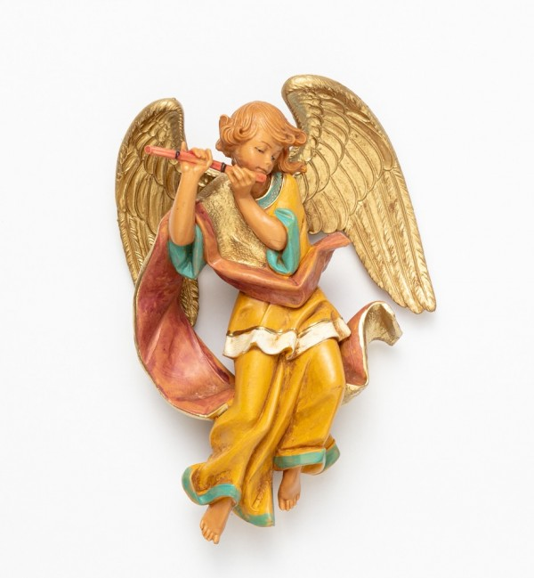 Angel with flute (467) 17 cm.