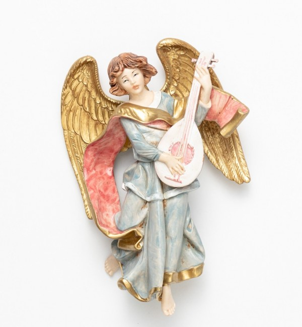 Angel with mandolin (470) porcelain type 17 cm.