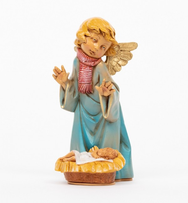 Angel with Jesus and scarf (561B) 20,5 cm.