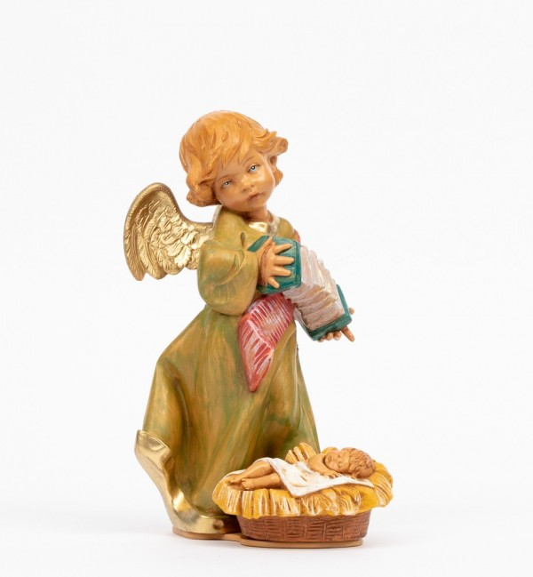 Angel with Jesus and accordion (564B) 20,5 cm.