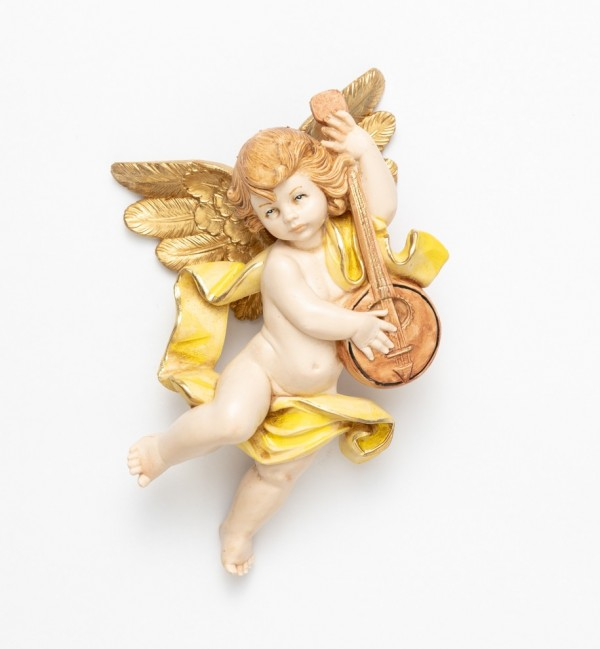 Angel with banjo (565) porcelain type 17 cm.