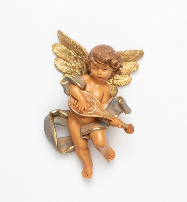 Angel with mandolin (567) 17 cm.