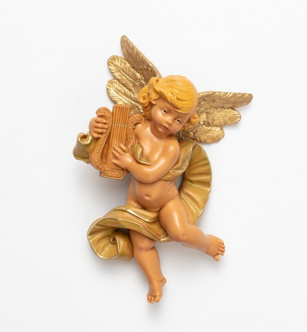 Angel with lyre (568) 17 cm.