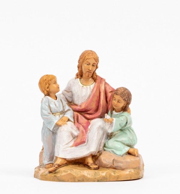 Christ with children (592) 12 cm.