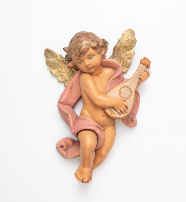 Angel with mandolin (666) 36 cm.