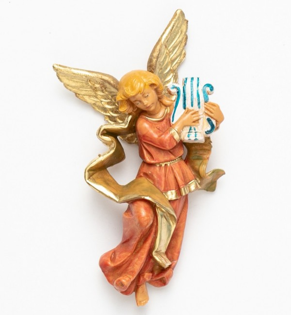 Angel with lyre (668) 11 cm.