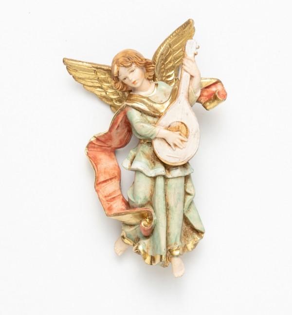 Angel with mandolin (670) porcelain type 11 cm.