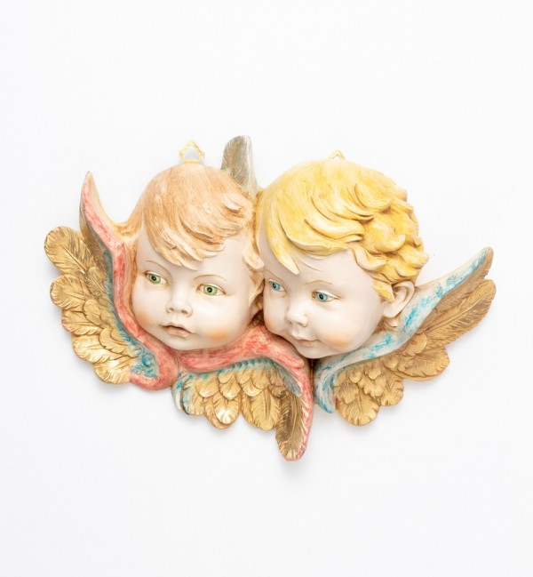 Angel heads (678) porcelain type 25x35 cm.