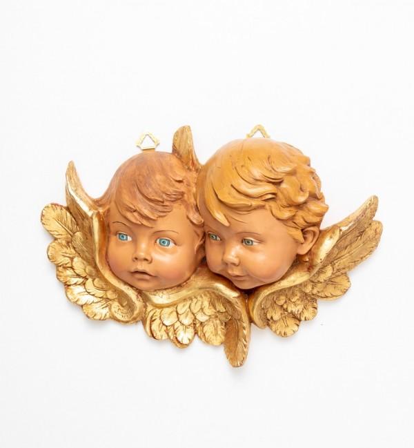 Angel heads (678) 25x35 cm.
