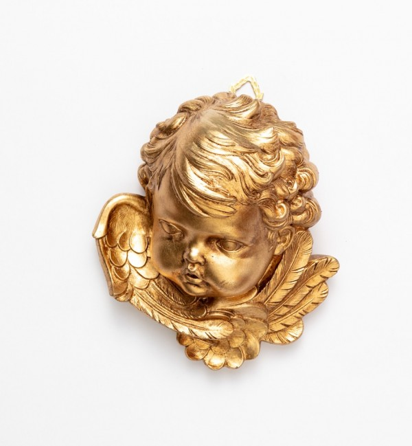 Right angel head (680) gold leaf 19 cm.