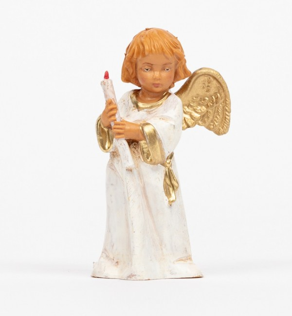 Angel with candle (683) 7,5 cm.